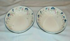 """2 Beautiful Vintage Royal Doulton, Expressions """"Windermere"""" Oval Serving Bowls"""