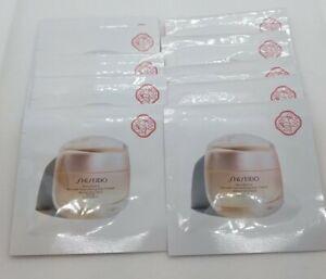 Shiseido Benefiance Wrinkle Smoothing Day Cream SPF 23  1.5 ml X 10 Sealed
