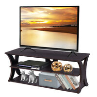 3-Tier TV Stand Entertainment Center Media Console Furniture Storage Cabinet New