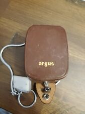 ARGUS LIGHT EXPOSURE METER---WITH CASE---MADE IN WESTERN GERMANY