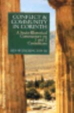 Conflict and Community in Corinth : A Socio-Rhetorical Commentary on 1 and 2...