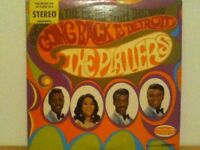 THE  PLATTERS            LP     GOING BACK TO DETROIT