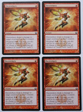 Electrickery, NM English x 4 Return to Ravnica mtg PAUPER Low International Ship