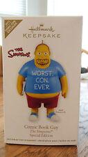 "New HALLMARK 2011 Comic-Con Exclusive ""Comic Book Guy"" The Simpsons"