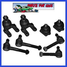 Steering Tie Rod End Front Kit Ball Joint Upper Lower For 4WD Nissan D21 Pickup