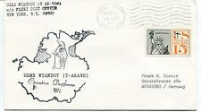 1972 USNS Wyandot T-AKA92 Operation Deep Freeze New York Polar Antarctic Cover