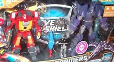 Transformers REVEAL THE SHIELD RODIMUS vs CYCLONUS HASBRO MISB IN STOCK battle