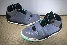 554061005a8 Nike Air Jordan Men's Flight Club 90's Mint Green Gray Black Shoes Size 10