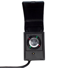 Brand New Intermatic15-Amp Heavy Duty Outdoor Timer Controls LED and CFL lights