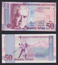 New listing Armenia 50 Dram 1998 Fds / Unc C-07