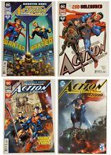 ACTION COMICS 995 996 997 1000 COMIC LOT! SUPERMAN LEVIATHAN! 1ST APPEARANCE DC!