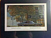 "1968 Pontiac GTO Woodward Ave 389*Original*GM""Ready to Display"" car ad 1969"