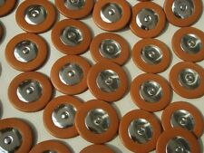 150 pieces Excellent leather sax pads 25mm to 54mm good material