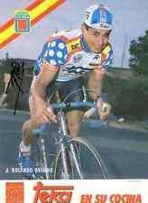 JOSE ROLANDO OVANDO TEKA Team LA VUELTA Signed Autographe cycling cyclisme signé