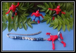 Personalised bookmark spiderman teacher gift  present  fast delivery uk