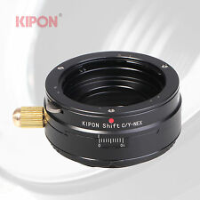 Kipon Shift Adapter for Contax/Yashica C/Y Mount Lens to Sony E Mount NEX Camera