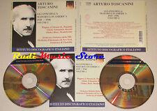 BOX 2 CD ARTURO TOSCANINI Gli anni della maturita america PAGANINI lp mc dvd