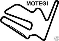 Autocollant sticker Motegi circuit de course moto gp japon vélo