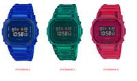 Casio G-Shock DW5600SB-2 & DW5600SB-3 & DW5600SB-4 Digital Skeleton Series Watch