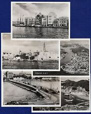 Caribbean, Netherlands West Indies, Curacao NWI, 5x RP Postcards (Ref. t0149)