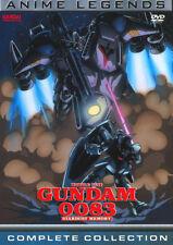 MOBILE SUIT GUNDAM 0083 Stardust memory 4 DVD in 1 BOX Serie completa ENG Bandai