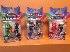 Pj Masks 3 Figure Sets Owlette Luna Girl Gekko Night Ninja Catboy Romeo