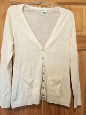 086a8c71411 Women s BANANA REPUBLIC Sweater Button Up Petite Large L Medium M Alpaca  Wool