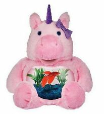 Teddy Tank Plush Pink Magical Unicorn 1 Gal Fish Bowl Pal Friend Stuffed Animal