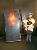 """Star Wars 12"""" Han Solo Carbonite Light Up and Princess Leia Boussh Disguise"""