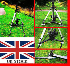 CAMERA TRACK DOLLY 12 wheeler for Broadcast CANON JVC SONY EX RED Arri 4K 8K etc