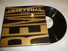 """CHAKA KHAN - I'm Every Woman - 1989 UK 3-track Remix 12"""" Vinyl Single"""