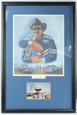#43 Richard Petty Start to Finish 1958-1992 NASCAR Autograph Photo Framed Print