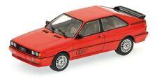 Audi quattro Modellauto 1:43 rot 1981 Minichamps NEU SONDERPREIS