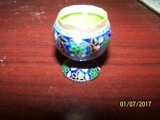"Really Pretty cloissone goblet 1 1/2"" tall by 1"" round very well made"