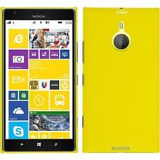Funda Rígida Nokia Lumia 1520 - goma amarillo + protector de pantalla