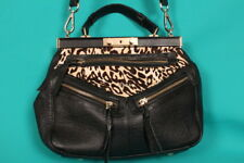 GAYA 'Cheetah Print' shoulder/tote bag with detachable shoulder strap