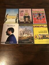 Lot of 6 Drama/Comedy Dvd Movies: Little Miss Sunshine, Big Fish.