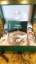Women's  Bracelet Watch w/ Changeable Bezels Gift Set by Pierre Jacquard