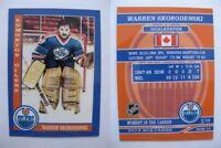 2015 SCA Warren Skorodenski Edmonton Oilers goalie never issued produced #d/10