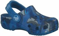 Crocs Kids Classic Graphic Clog | Slip on Toddlers | Water, Sharks, Size 4.0 lBs