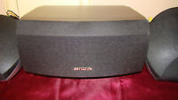 2 Aiwa Speakers, SX-R275 and 1 SX-C605 Surround Sound Speaker Set