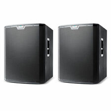 """2 X Alto Ts218s 18"""" 2500w Active Powered PA Subwoofer Sub Bass Speaker Cover"""