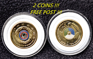 2021 $2 INDIGENOUS MILITARY SERVICE + 2020 $2 75th Anniv. WW11, 2 X COIN OFFER!!