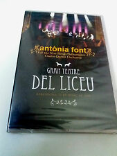 "ANTONIA FONT ""GRAN TEATRE DEL LICEU 30 DE MARÇ DE 2008"" DVD PRECINTADO CUATRO QU"