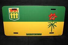 SASKATCHEWAN FLAG CAR LICENSE PLATE