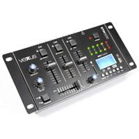 TABLE DE MIXAGE 4 ENTREES USB MP3 BT REC ( 2 PHONO + 3 LIGNES + 1 MP3 )