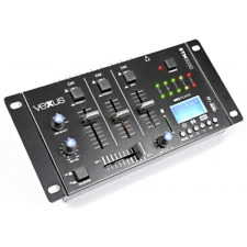 TABLE DE MIXAGE 4 ENTREES USB MP3 BT REC ( 2 PHONO + 3 LIGNES + 1 MP3 )