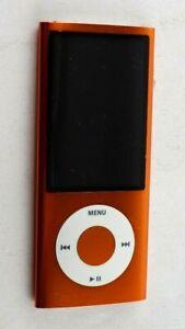 Apple iPod Nano Model A1320 16GB 5th Generation Orange Please Read