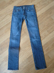 """womens 7 for all mankind jeans - size 24"""" waist great condition !"""
