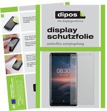 6x Nokia 8 Sirocco Screen Protector Protection Anti Glare dipos